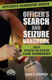 Officer's Search and Seizure Handbook cover