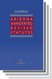 LexisNexis Arizona Annotated Revised Statutes cover