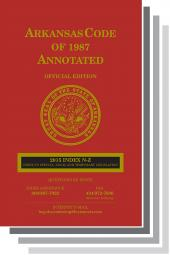 Arkansas Code of 1987 Annotated cover