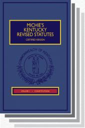 Michie's Kentucky Revised Statutes Annotated, Certified
