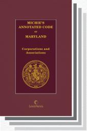 Michie's Annotated Code of Maryland cover