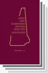 New Hampshire Revised Statutes Annotated cover