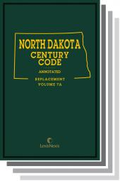 North Dakota Century Code Annotated cover
