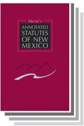 Michie's Annotated Statutes of New Mexico cover