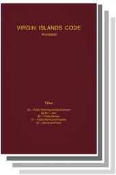 Virgin Islands Code Annotated cover