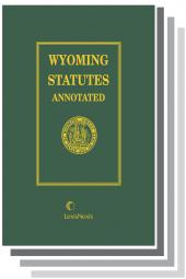Wyoming Statutes Annotated cover
