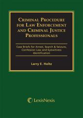Criminal Procedure for Law Enforcement and Criminal Justice Professionals 12th Edition with CD cover