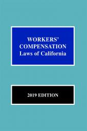 Workers' Compensation Laws of California cover