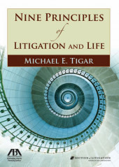 Nine Principles of Litigation and Life cover