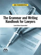 The Grammar and Writing Handbook for Lawyers cover