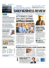Palm Beach Daily Business Review cover