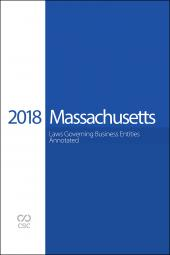 CSC® Massachusetts Laws Governing Business Entities cover