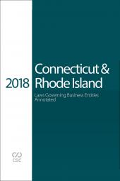 CSC® Connecticut & Rhode Island Laws Governing Business Entities Annotated cover