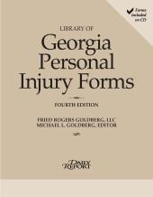Library of Georgia Personal Injury Forms cover