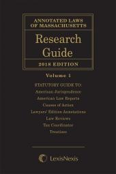 Annotated Laws of Massachusetts Research Guide cover