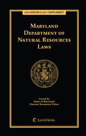Maryland Department of Natural Resources Laws cover