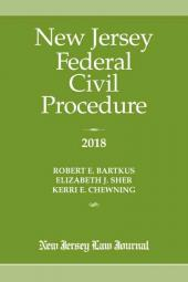 New Jersey Federal Civil Procedure  cover