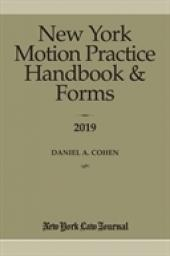 New York Motion Practice Handbook & Forms cover