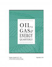 Oil, Gas & Energy Quarterly cover