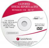 California Official Reports on DVD cover