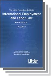 The Littler Mendelson Guide to International Employment and Labor Law cover