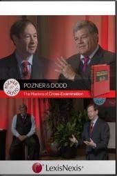 Pozner and Dodd, The Masters of Cross-Examination DVD cover