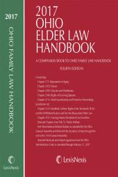 2017 Ohio Family Law Handbook and Ohio Elder Law Handbook - A Companion to Ohio Family Law Handbook cover