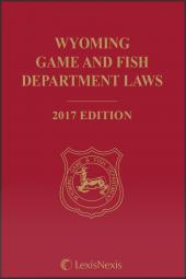 Wyoming Game and Fish Department Laws cover