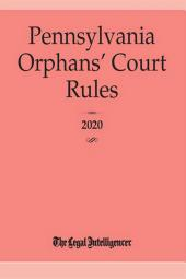 Pennsylvania Orphans' Court Rules cover