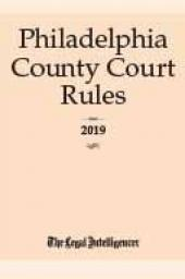 Philadelphia County Court Rules (PA) cover