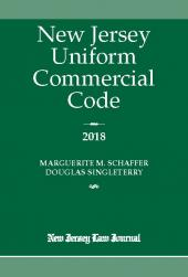 New Jersey Uniform Commercial Code cover