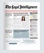 The Legal Intelligencer cover