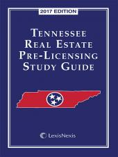 Tennessee Real Estate Pre-Licensing Study Guide cover