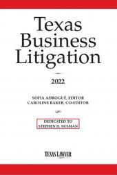 Texas Business Litigation cover