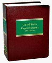 United States Export Controls cover