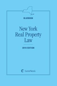 New York Real Property Law (Bluebook) | LexisNexis Store