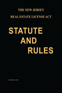 The New Jersey Real Estate License Act Statute And Rules Lexisnexis Store