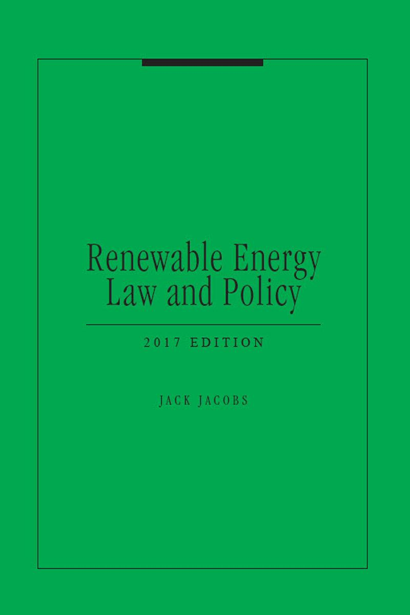 Renewable Energy Law and Policy