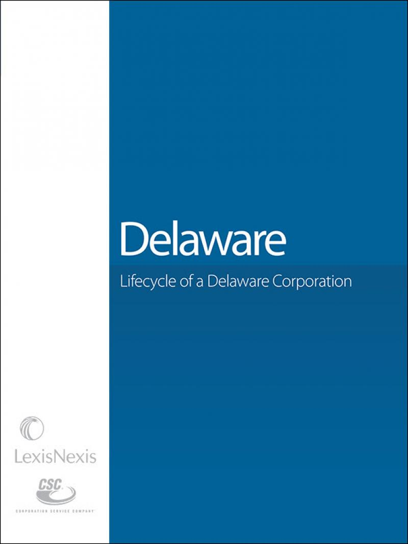 Lifecycle of a Delaware Corporation