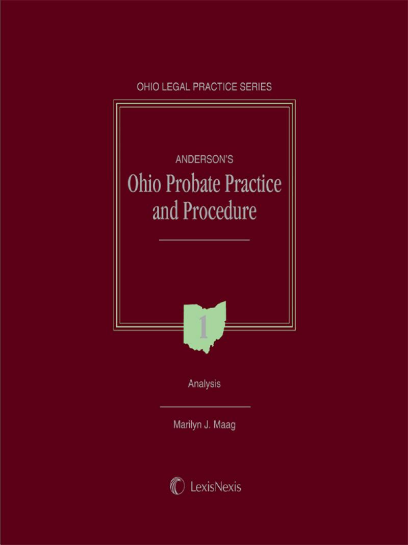 Anderson's Ohio Probate Practice and Procedure | LexisNexis