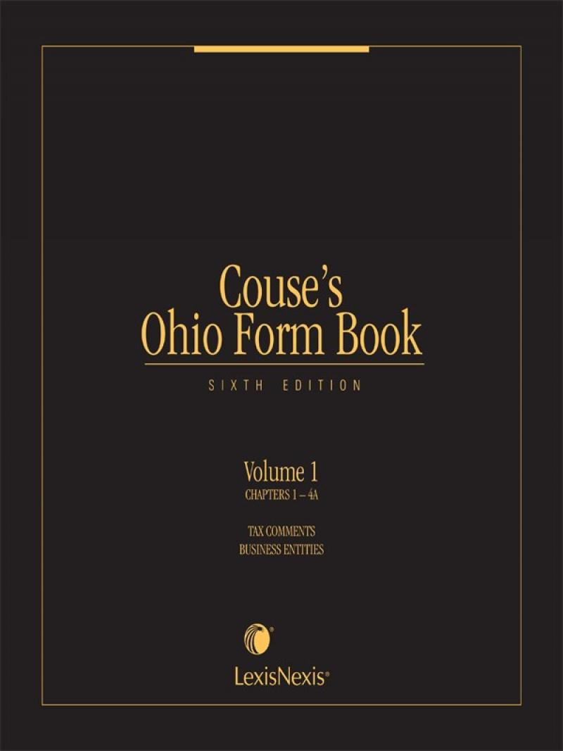 Couse's Ohio Form Book