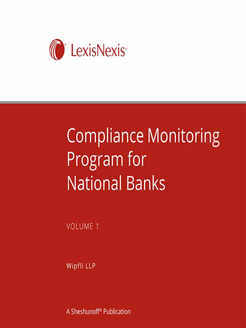 Compliance monitoring program for national banks lexisnexis store reheart Gallery
