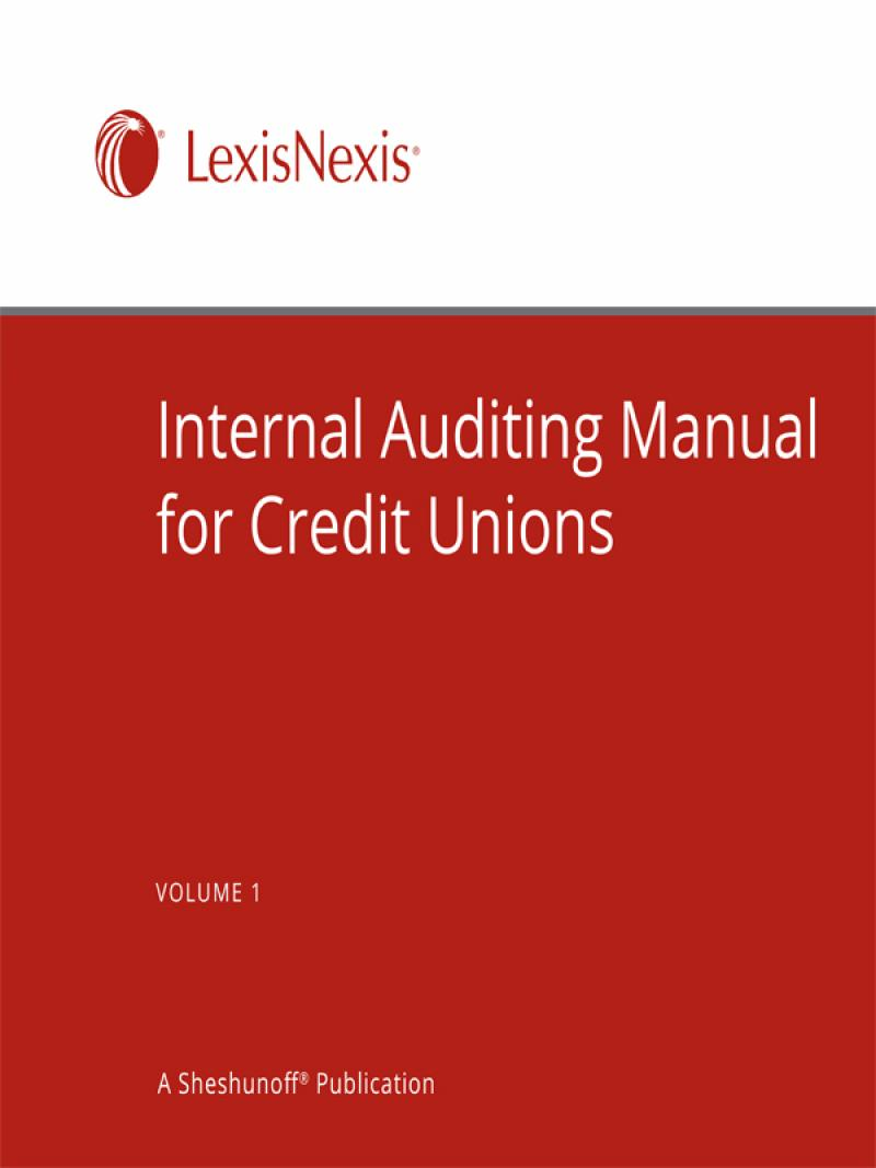 Internal auditing manual for credit unions lexisnexis store fandeluxe Choice Image
