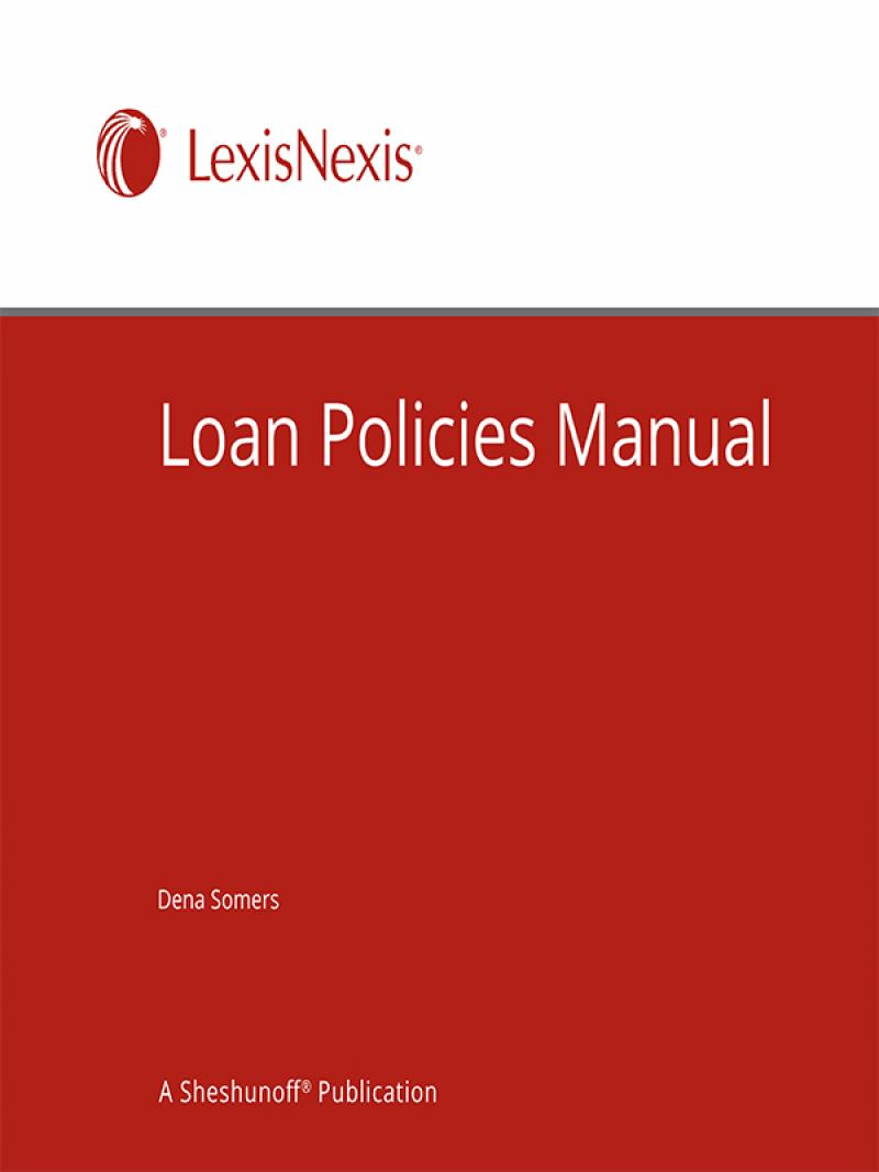 loan policies manual