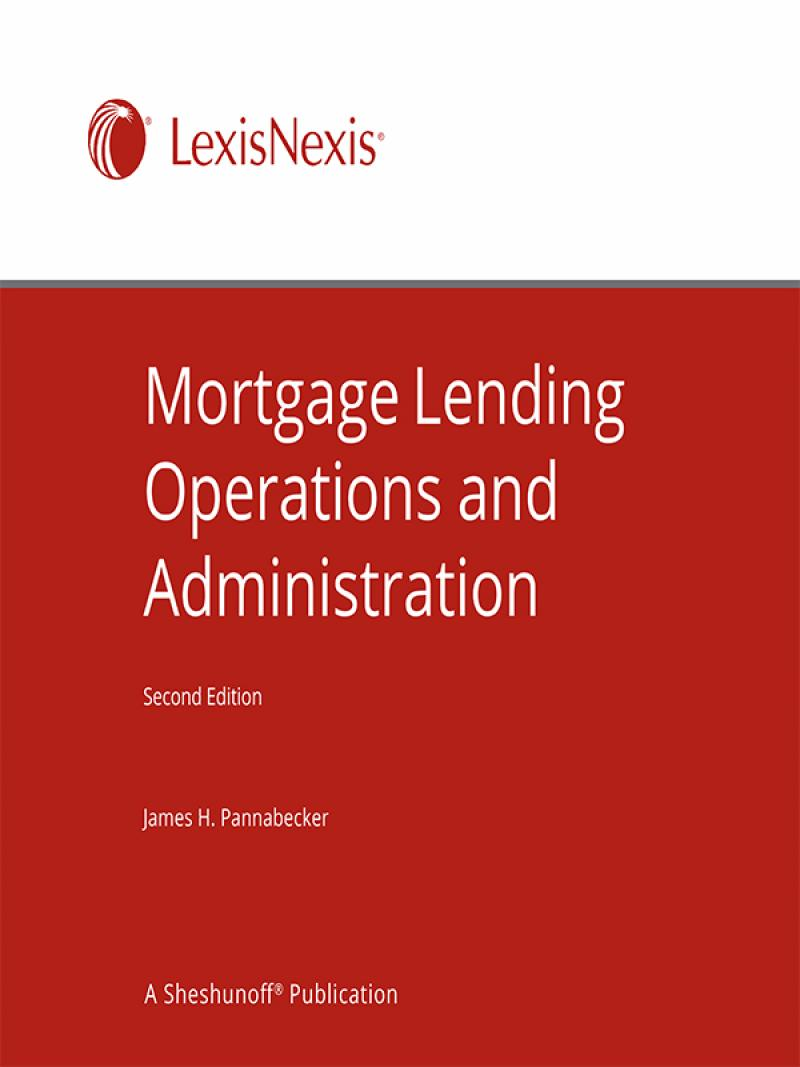 Mortgage Lenders Model Compliance Manual: Policies, Forms, and ...