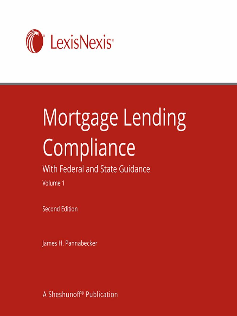 Mortgage Lending Compliance With Federal And State Guidance
