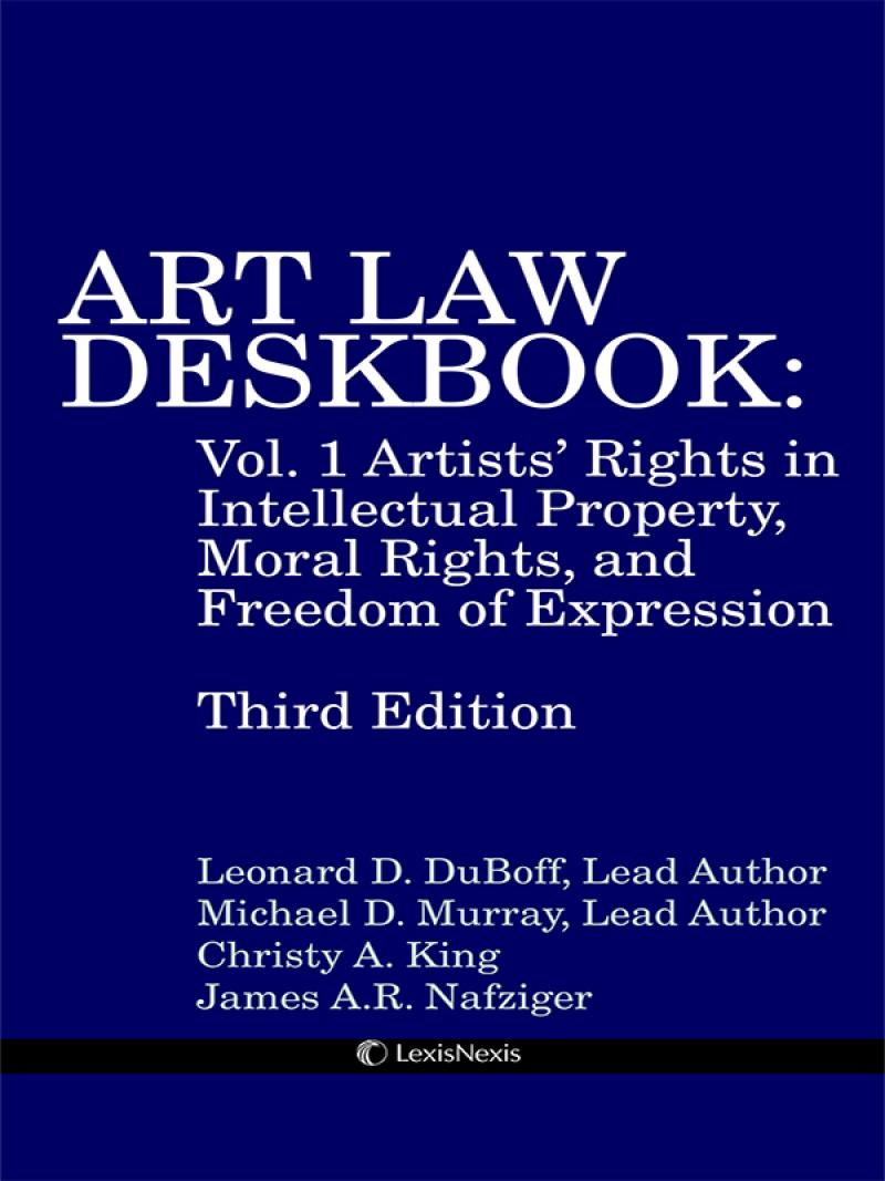 Art Law Deskbook=