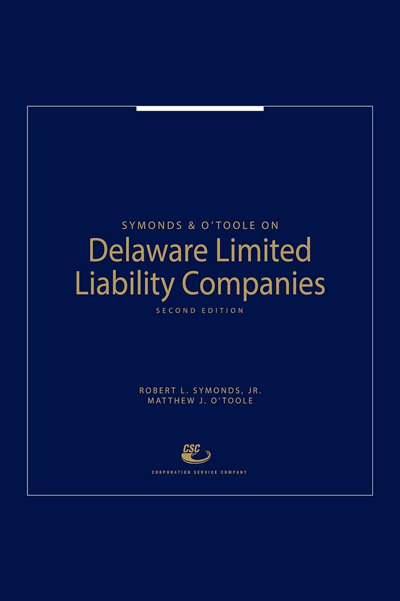 Symonds Otoole On Delaware Limited Liability Companies