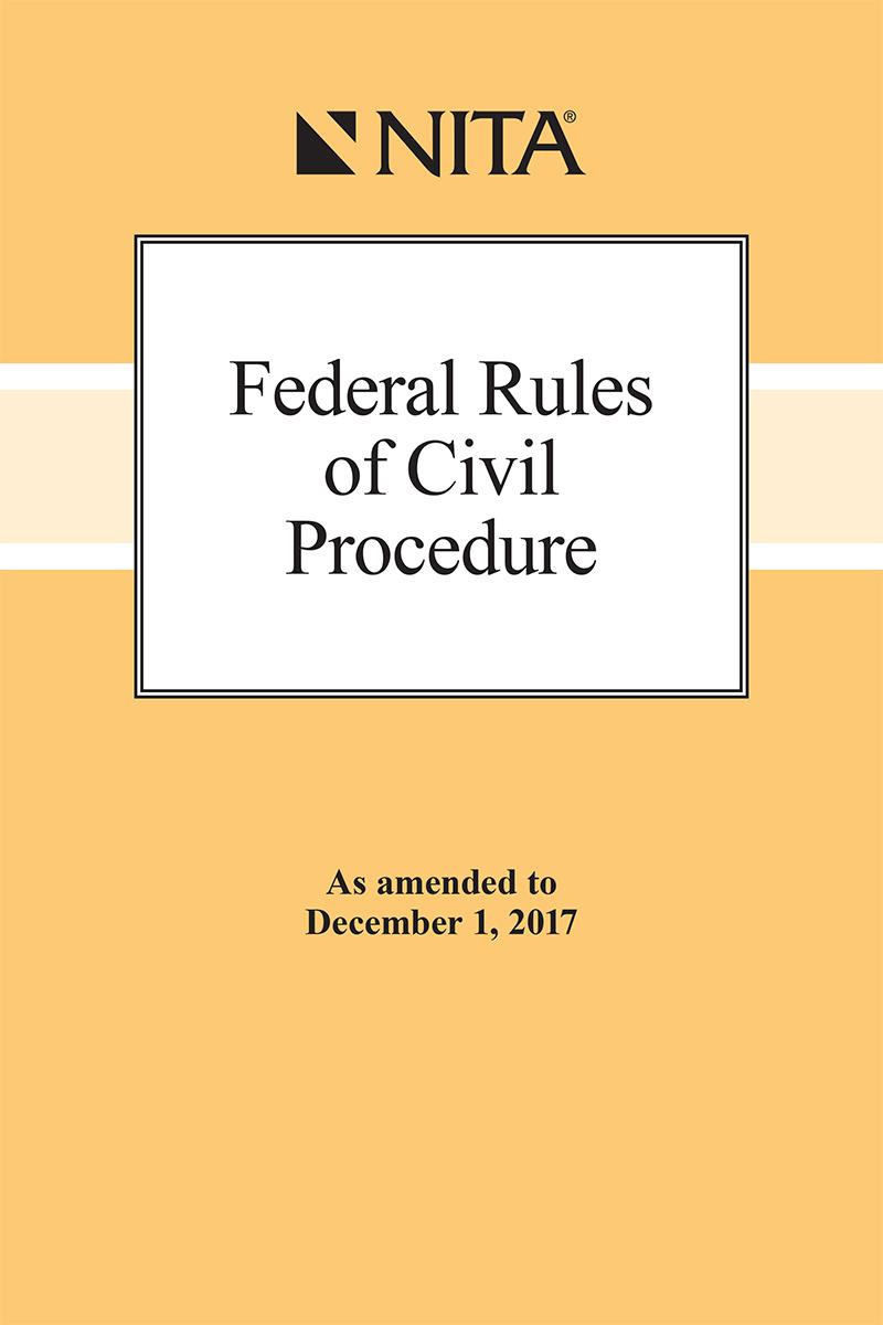 Federal Rules of Civil Procedure | NITA