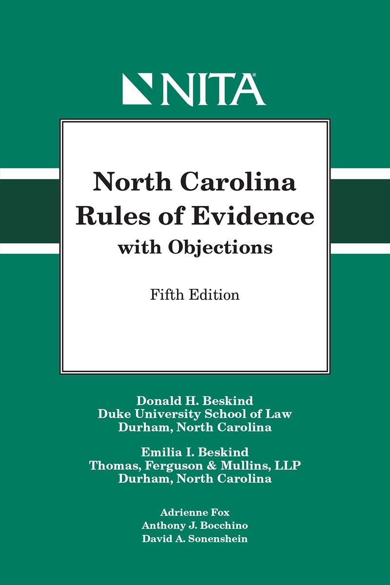 North carolina rules of evidence with objections lexisnexis store fandeluxe Images